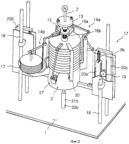 Цилиндровый привод, использующий сжатый воздух