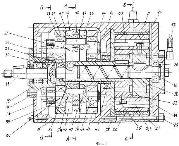 Способ работы роторного двигателя и роторный двигатель холодного