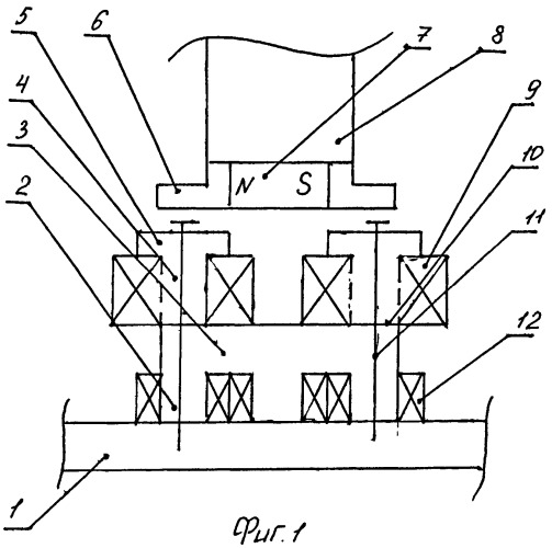 Статор ветроэлектрогенератора синхронного типа