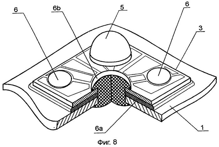 Светодиодное осветительное устройство и узел источников излучения для этого устройства