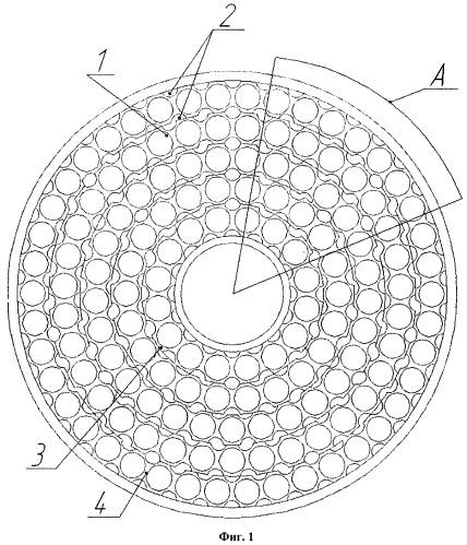 Противоточный пластинчатый матрично-кольцевой компактный керамический рекуператор