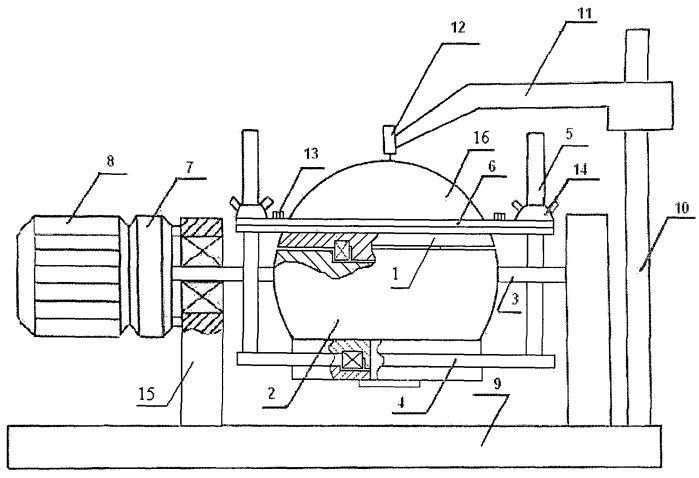 Устройство для измерения неровностей листовых вязкоупругих материалов