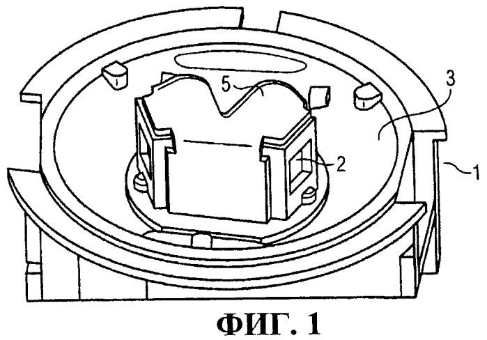 Датчик излучения для обнаружения положения и интенсивности источника излучения
