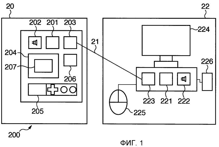 Система, способ управления выводом звуковых указаний, передающее устройство и приемное устройство