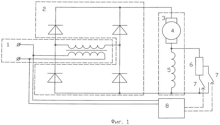 Способ увеличения коэффициента мощности и устройство для его реализации