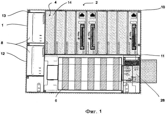 Несущая система авиационного электронного оборудования
