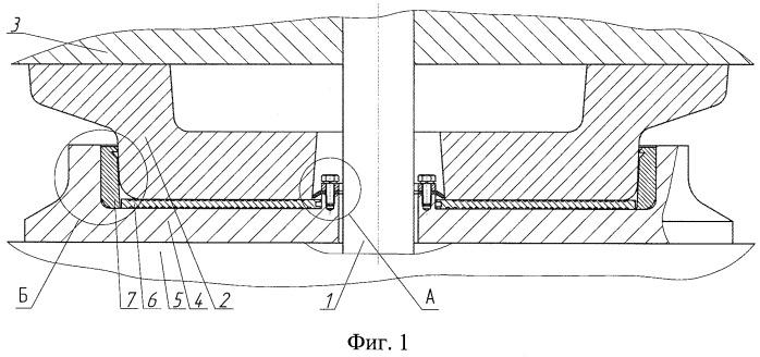 Пятниковый узел опоры кузова на тележку грузового вагона