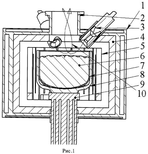Способ очистки металлургического кремния увлажненной плазмой переменного тока в вакууме