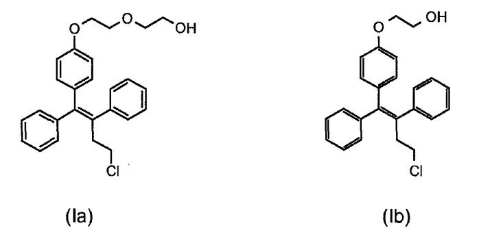 Способ получения терапевтически полезных производных трифенилбутена
