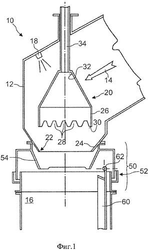 Отводящая трубная система коксовой печи