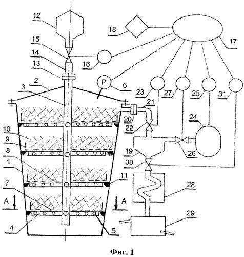 Импульсный аппарат для переработки эфиромасличного сырья