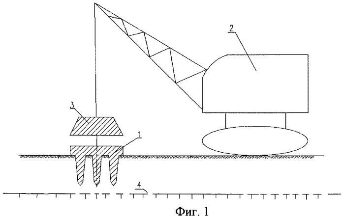 Способ возведения малозаглубленных и поверхностных фундаментов в условиях вечномерзлых грунтов