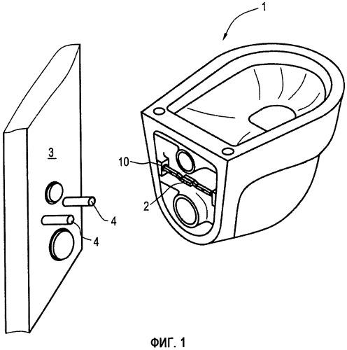 Санитарно-техническое устройство и крепление для установки такого устройства