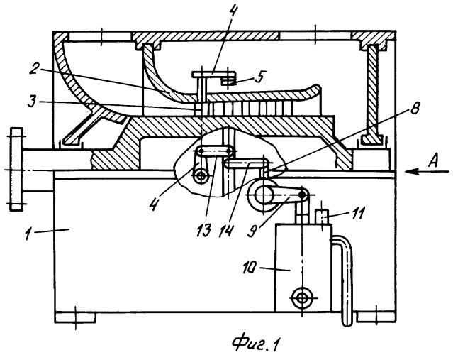 Механизм поворота направляющих лопаток