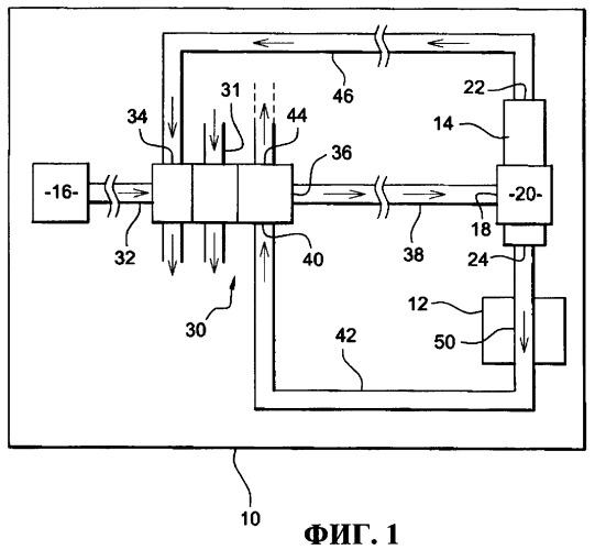 Устройство для охлаждения электрического оборудования газотурбинного двигателя и газотурбинный двигатель