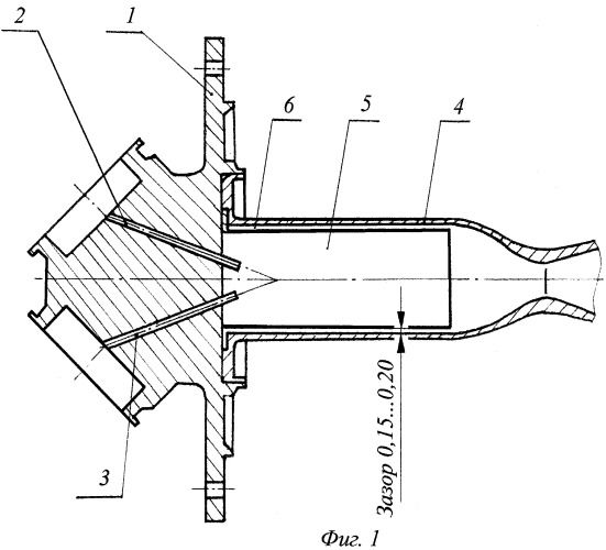 Камера жидкостного ракетного двигателя малой тяги