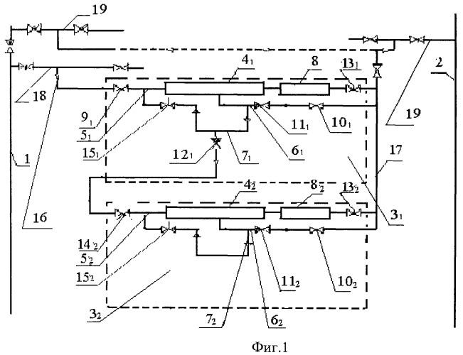 Способ откачки газа из отключенного участка магистрального газопровода (варианты) и мобильная компрессорная станция для его осуществления (варианты)