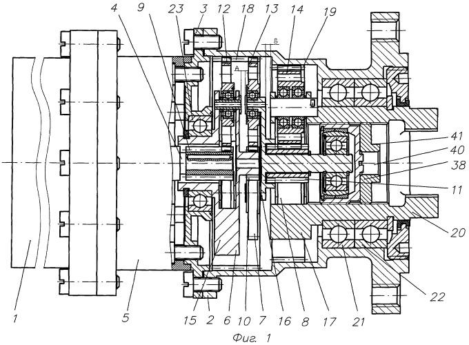 Способ работы электропривода с трехступенчатым планетарным редуктором