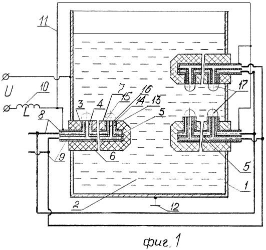 Способ нагрева жидкого теплоносителя и устройство для его осуществления