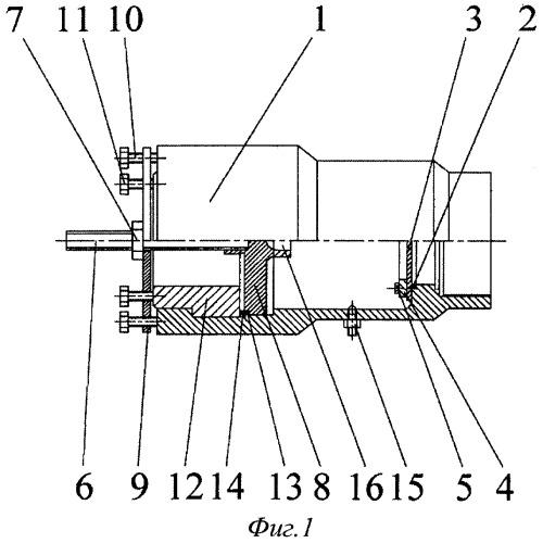 Устройство и способ герметизации камеры высокого давления баллистической установки