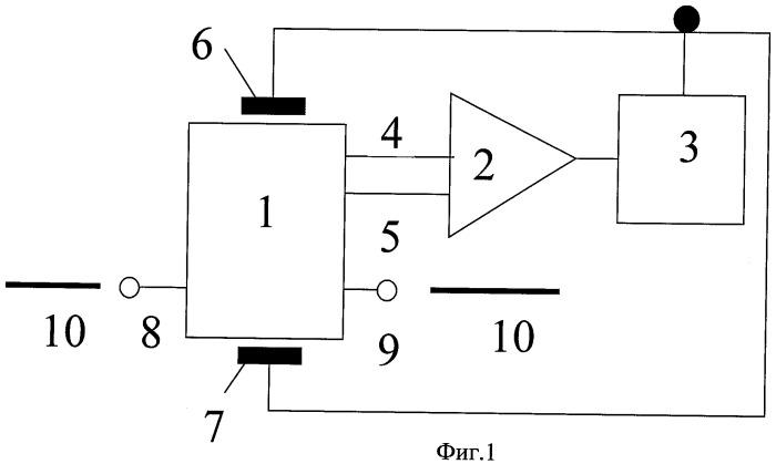 Магниточувствительная интегральная схема для стабилизации электрического тока