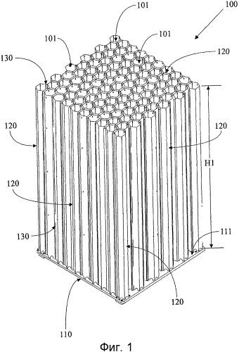 Устройство для закрепления радиоактивных тепловыделяющих сборок