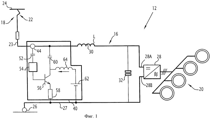 Активное устройство компенсации гармонических токов