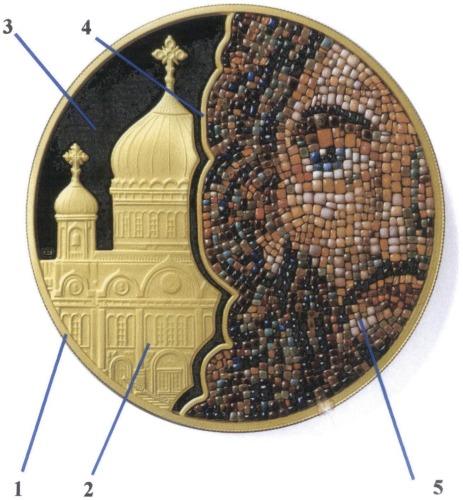 Способ декоративного модифицирования поверхностей монет, медалей, жетонов, изготовленных из пластичных при холодном деформировании металлов или их сплавов, и изделие, изготовленное по данному способу