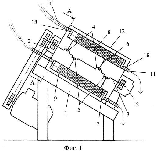 Многокамерная вибрационная мельница
