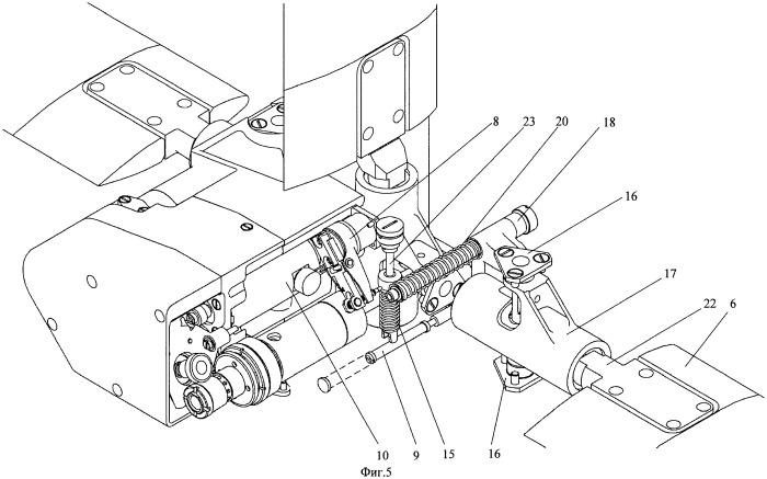Электропривод управления рулевыми поверхностями летательных аппаратов