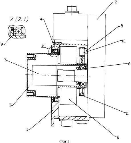 Система поворота солнечной батареи