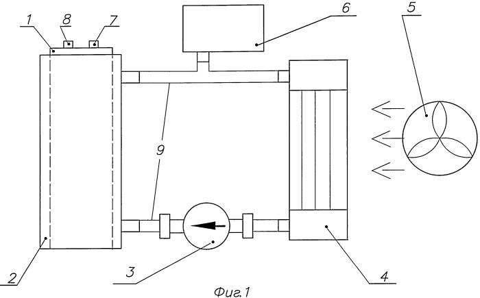 Электролизер для получения смеси водорода и кислорода