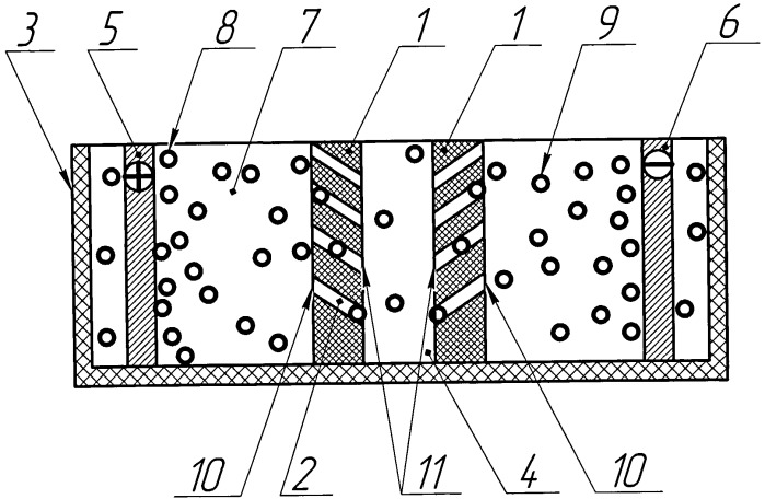 Диафрагма электролизера