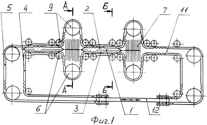 Устройство для прокладки уточной нити на лентоткацком станке