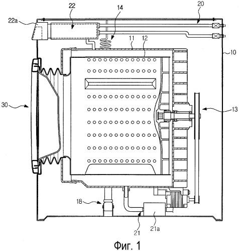 Стиральная машина и ее устройство для определения количества белья