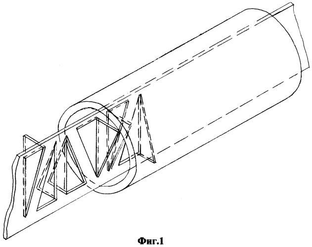 Армированный стержневой элемент из композитного материала в пространственных конструкциях