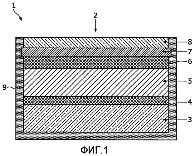 Электрохромное устройство и устройство для фотодинамического лечения, содержащее такое электрохромное устройство