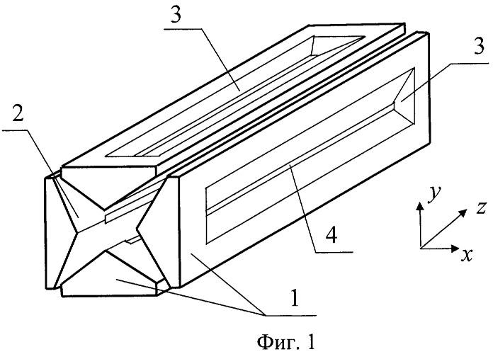 Система электродов линейной ионной ловушки