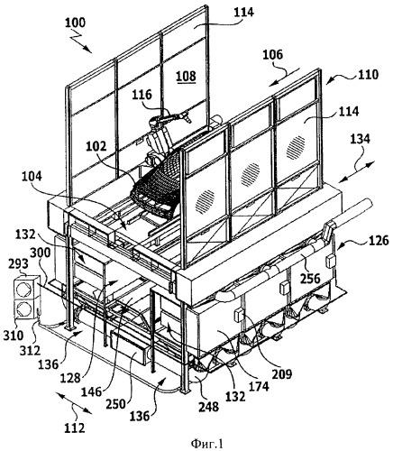 Фильтрующее устройство и способ сепарации избыточного распыления мокрого лака