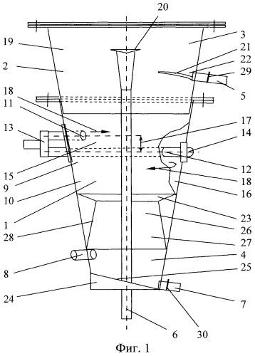 Классификатор гидроциклонический трехпродуктовый