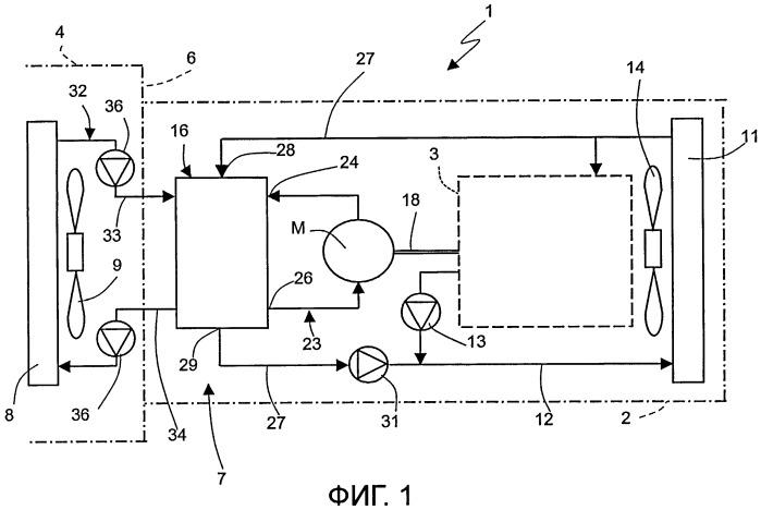 Система кондиционирования воздуха для автомобиля и автомобиль, снабженный этой системой