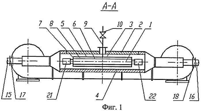 """Способ термической обработки лифтовых труб малого диаметра типа """"труба в трубе"""""""