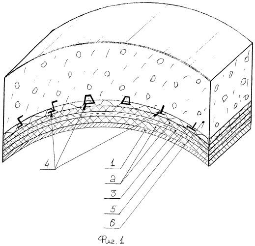 Кольцевой элемент сборной обделки туннеля