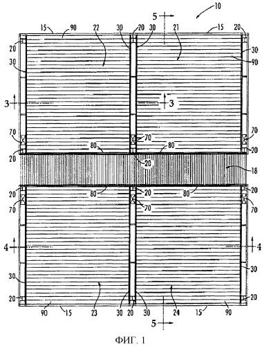 Система панельного строительства и соответствующий способ