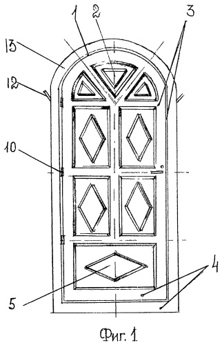 Огнестойкий дверной блок