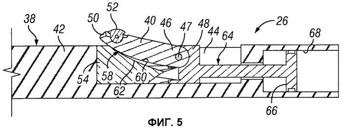 Крепежное устройство для использования в стволе скважины