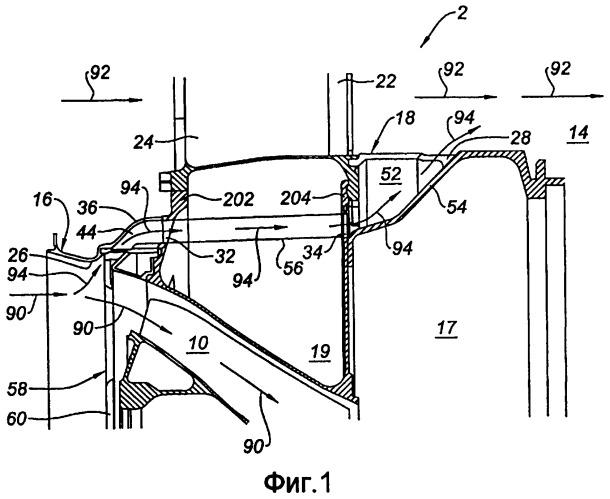 Разгрузочное устройство для турбореактивного двигателя и турбореактивный двигатель, содержащий такое устройство