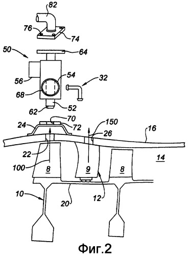 Устройство контуров отбора воздуха, ступень компрессора, содержащая такое устройство, компрессор, содержащий такую ступень, и турбореактивный двигатель, содержащий такой компрессор