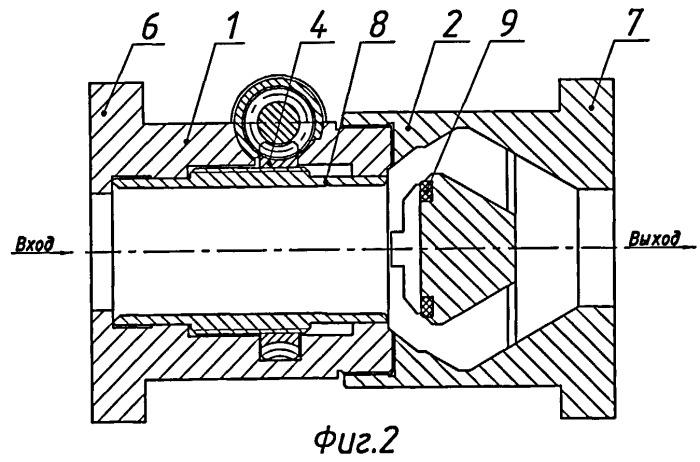 Клапан запорный электроприводной