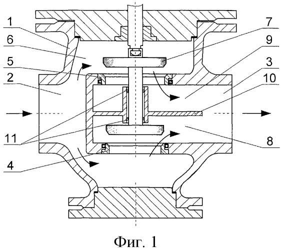 Двухседельный клапан (варианты)